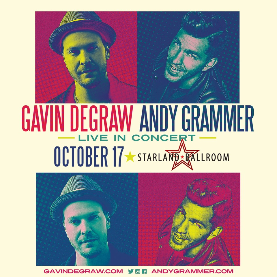 Gavin Degraw, Andy Grammer